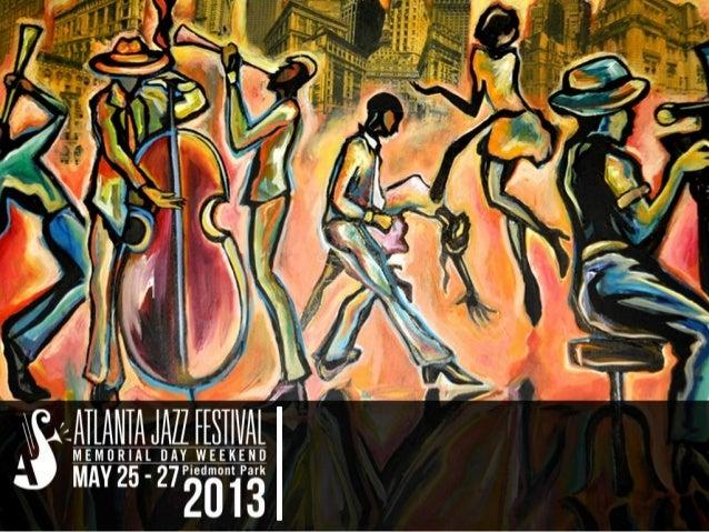 Atlanta Jazz Festival 2013 Sponsorship Brief