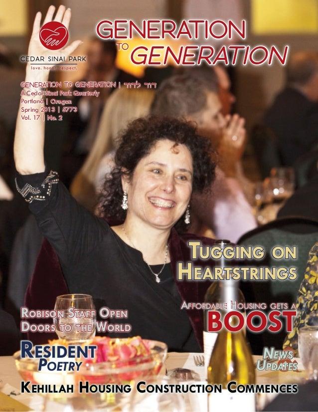 Generation                            Generation                               TOGeneration to Generation   דור לדורA Ce...