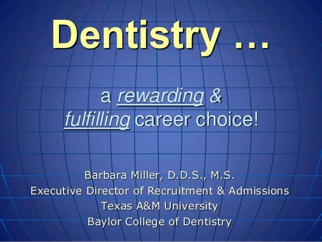 Baylor Dental School Information