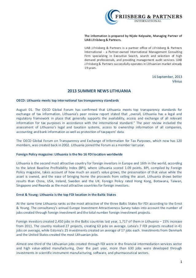 2013 summer news from lt