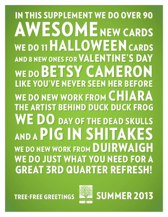 in this supplement we do over 90 awesomenew cards we do 11 halloweencards and 8 new ones for valentine's day we do betsy c...