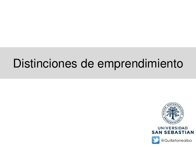 Distinciones de emprendimiento@Guilletorrealba