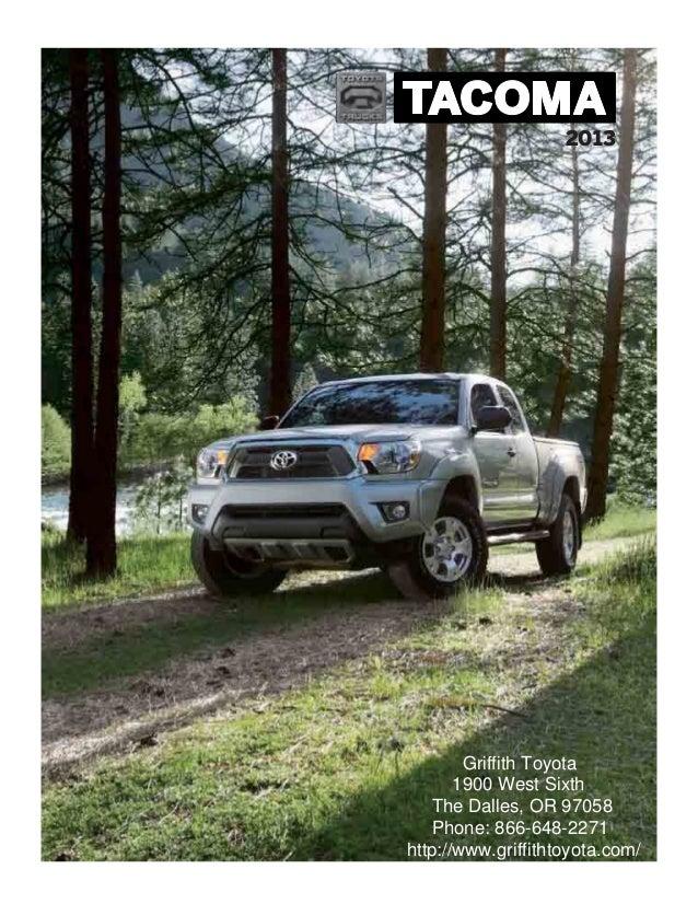 2013 Toyota Tacoma Brochure OR   Portland Toyota Dealer