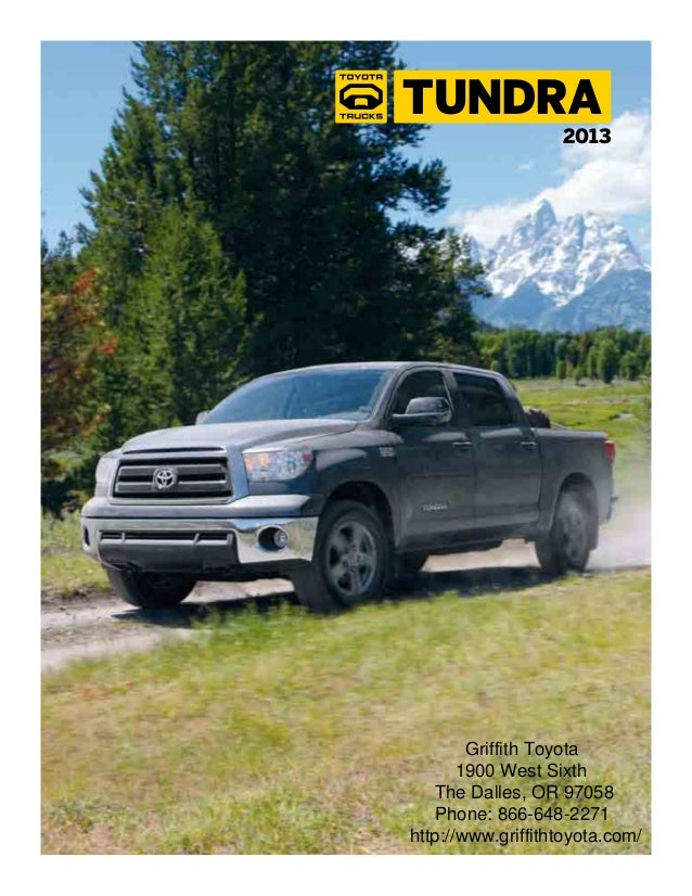 2013 Toyota Tundra Brochure OR | Portland Toyota Dealer