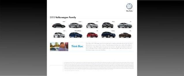 Blue is The Volkswagen Way