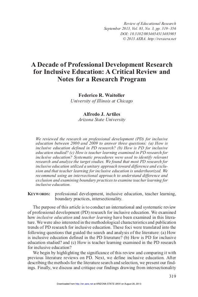 Dissertation proposal development
