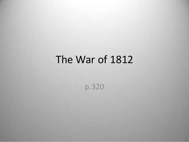 2013 war of 1812