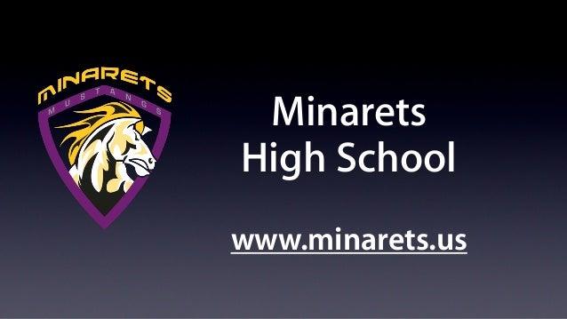 MinaretsHigh Schoolwww.minarets.us