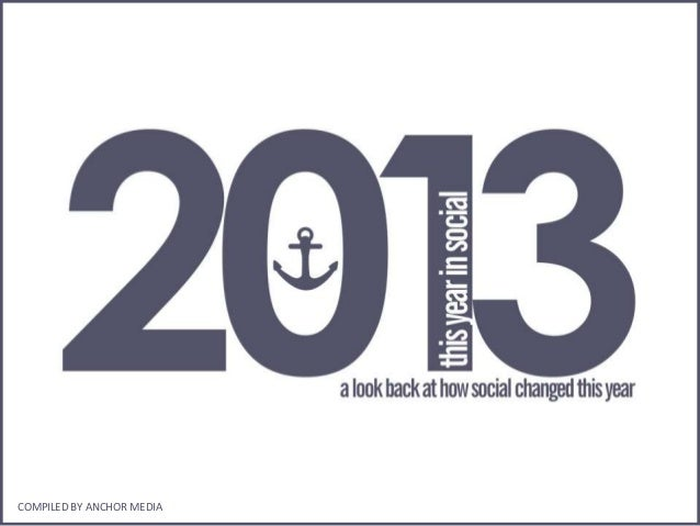 2013: This Year in Social by Anchor Media