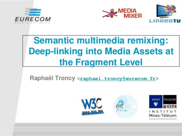 Semantic multimedia remixing