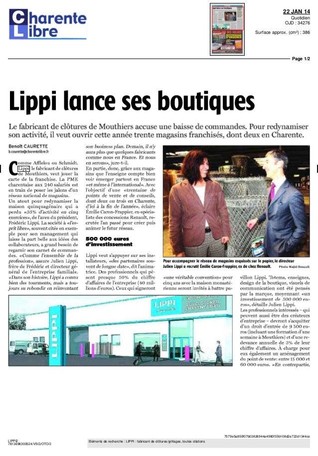 Lippi lance ses boutiques