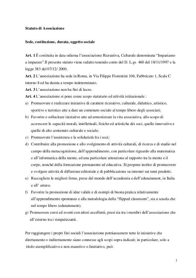2014 01-25 statuto