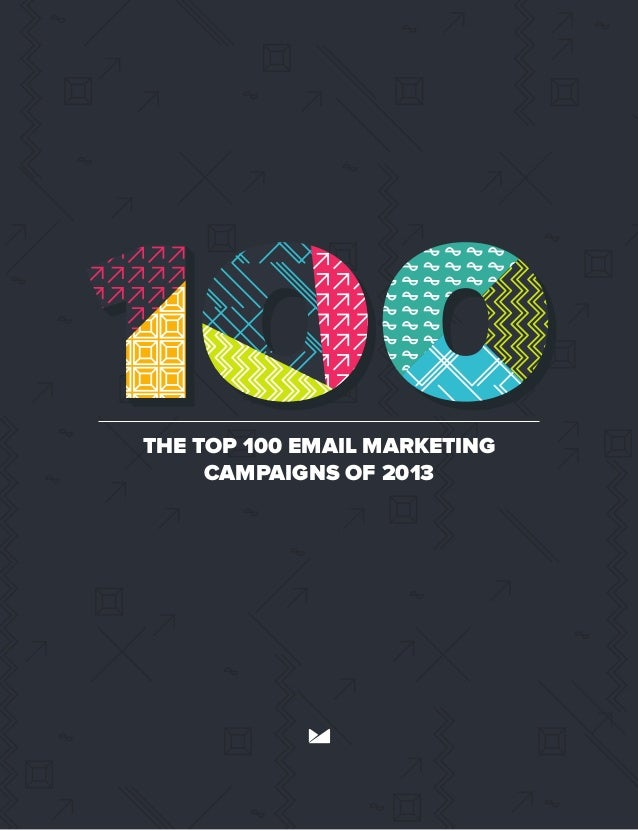 The best email marketing campaigns of 2013