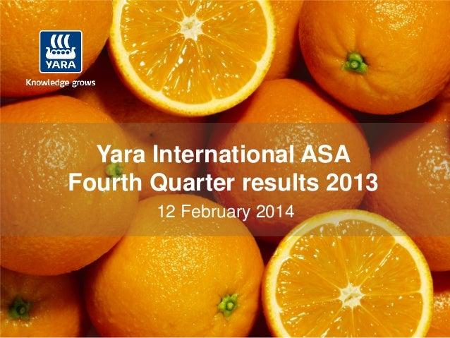 2014 02-18 - 2013 4 q13 web presentation