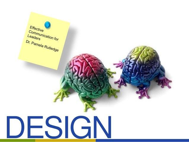 Design Matters: Design Basics for Leadership Communication