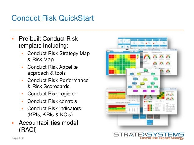 Enabling Effective Conduct Risk