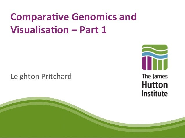 Comparative Genomics and Visualisation - Part 1