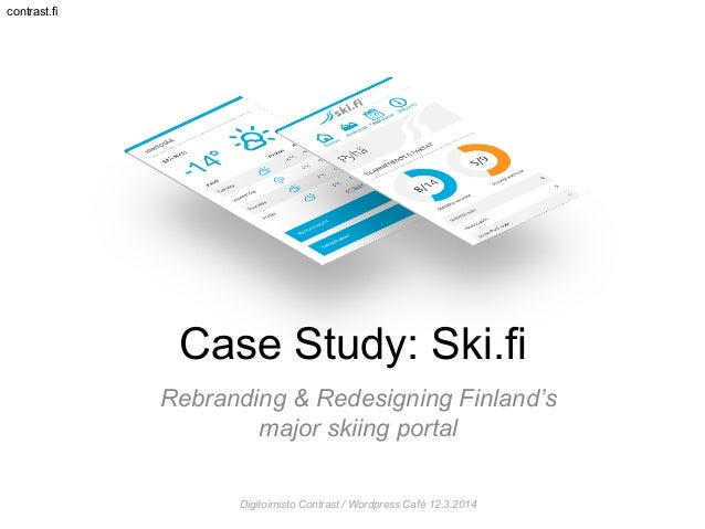 WP Café March 2014: Ski.fi case study