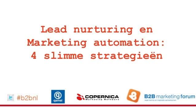 Masterclass lead nurturing en marketing automation: 4 slimme strategieën