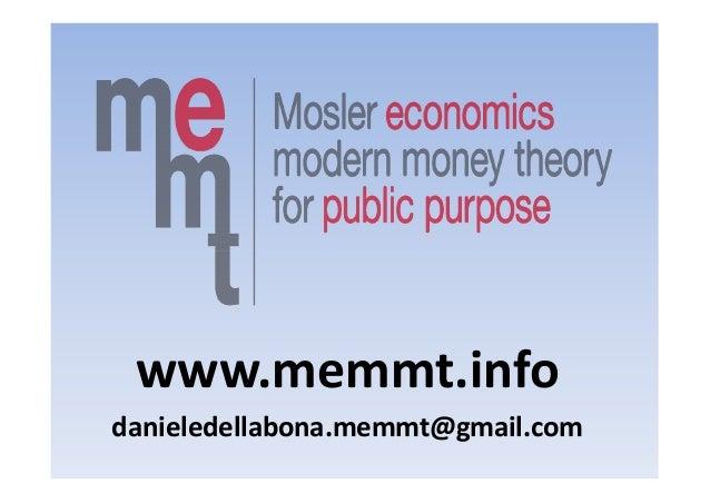 www.memmt.info danieledellabona.memmt@gmail.com