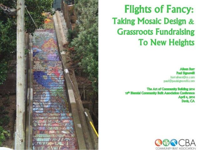 Flights of Fancy: Taking Mosaic Design & Grassroots Fundraising to New Heights