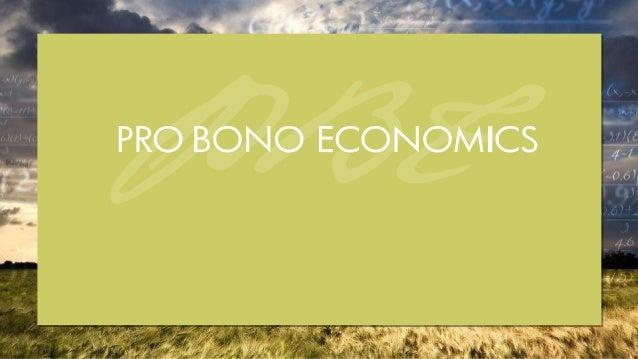 2© Pro Bono Economics PBE aims to match professional economists with charities; providing pro bono help to measure perform...