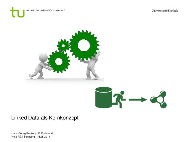 technische universität dortmund Universitätsbibliothek Hans-Georg Becker | UB Dortmund Netz-AG | Bensberg | 15.05.2014 Lin...
