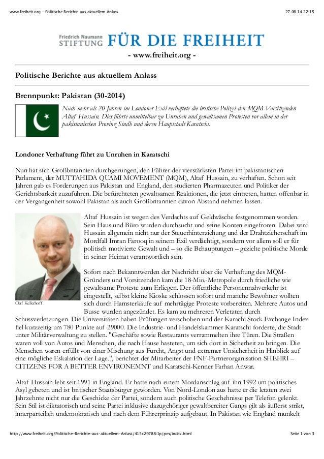 27.06.14 22:15www.freiheit.org - Politische Berichte aus aktuellem Anlass Seite 1 von 3http://www.freiheit.org/Politische-...