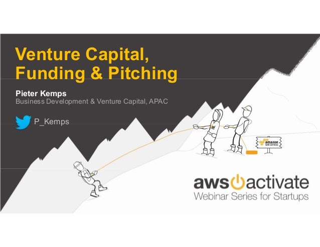[Webinar] AWS Activate Webinar Series for Startups, Funding, Pitching and Venture Capital