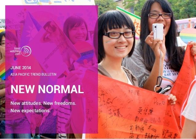 trendwatching.com's NEW NORMAL