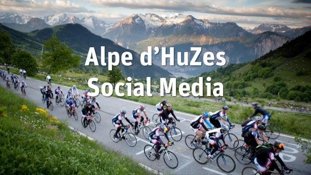 Alpe d'HuZes Social Media