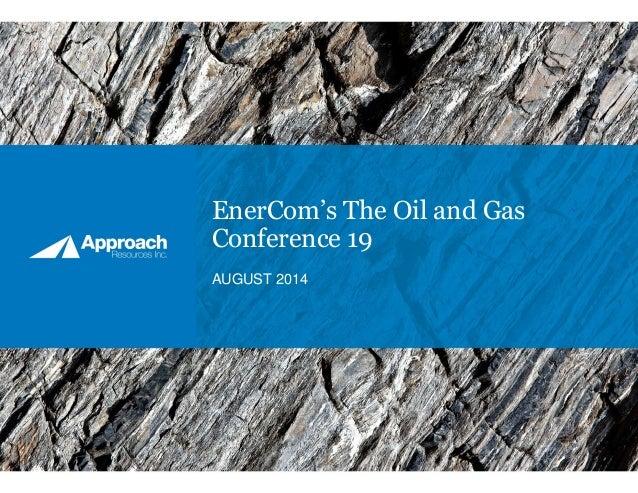 2014 Enercom Presentation