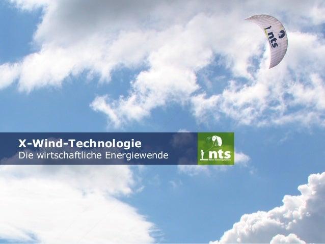 X-Wind-Technologie  Die wirtschaftliche Energiewende