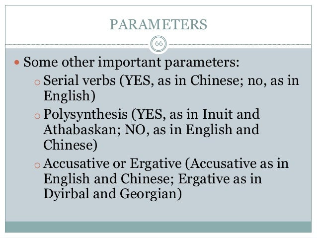 mark baker the polysynthesis parameter References abels, klaus mark 1995 the polysynthesis parameter new york: oxford university press collins, chris and mark baker.