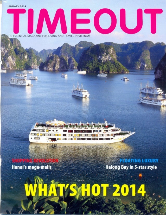 The Emeraude Classic Cruises' 10th Anniversary is featured in regional travel update of TimeOut Newspaper, January 2014