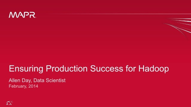 20140228 - Singapore - BDAS - Ensuring Hadoop Production Success