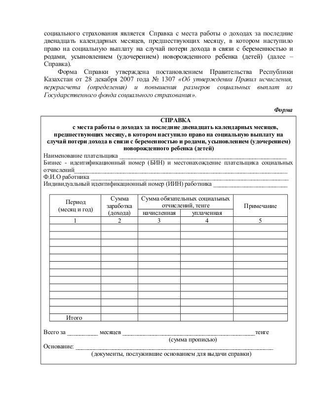 справка о заработной плате образец казахстан скачать бесплатно - фото 6
