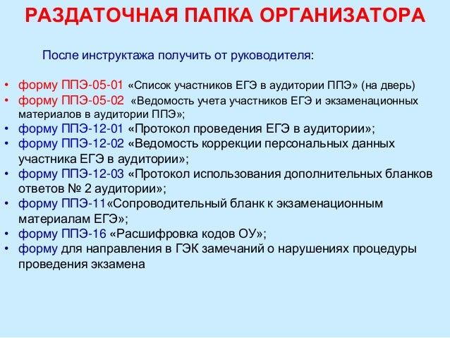 инструкция для организатора егэ по английскому языку - фото 8