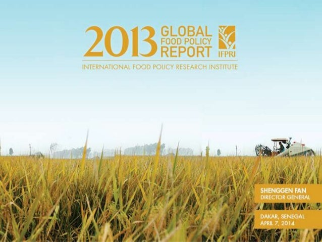 No room for complacency • Fairly stable global food prices until Jan. 2014 • But trends vary by country and region • Risin...