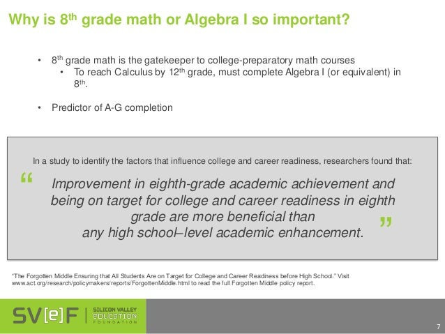 why algebra is important essay No matter whether you're a fan of math or not, it's clearly an important subject to   algebra is a broad field of advanced mathematics that involves the study of.