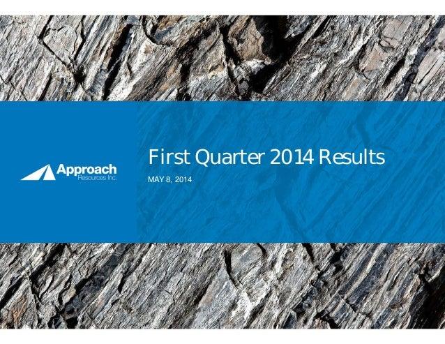 2014.05.08 (final) 1 q14 results presentation