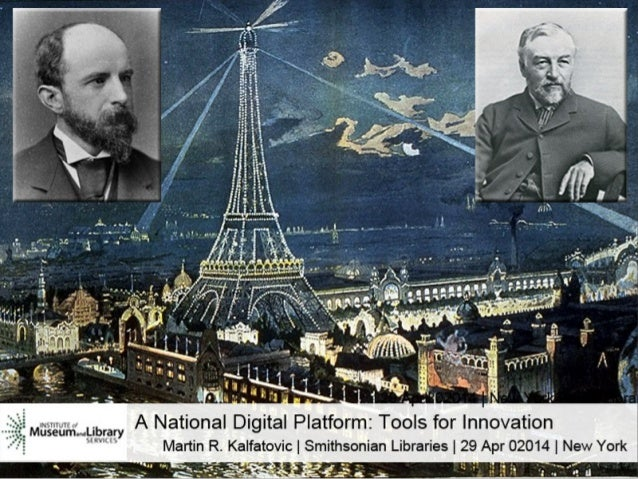 A National Digital Platform: Tools for Innovation.