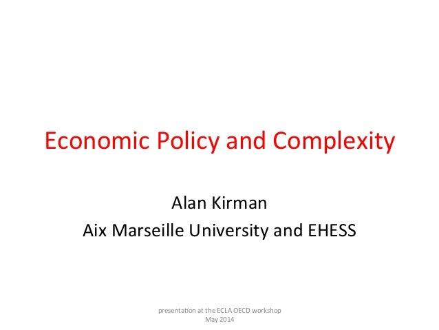 2014.05.19 - OECD-ECLAC Workshop_Session 1_Alan KIRMAN