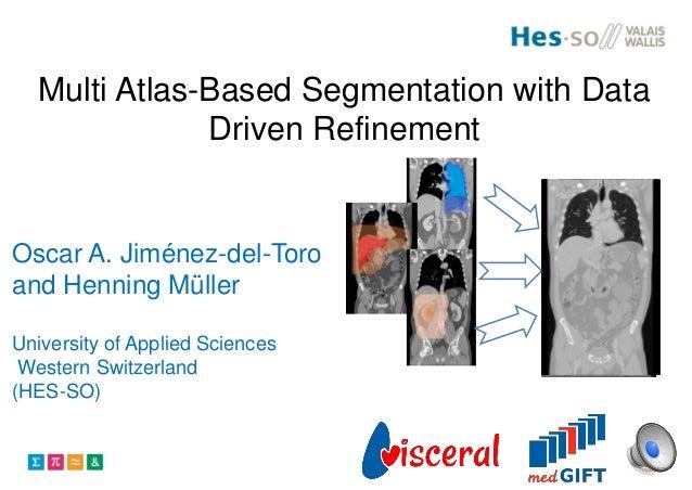 Multi Atlas-Based Segmentation with Data Driven Refinement