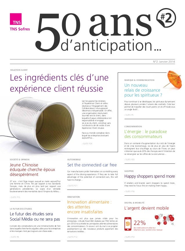 50 ans d'anticipation, le journal de TNS Sofres