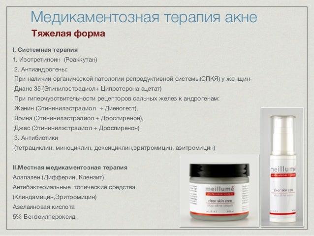 Изотретиноин (Роаккутан) 2.