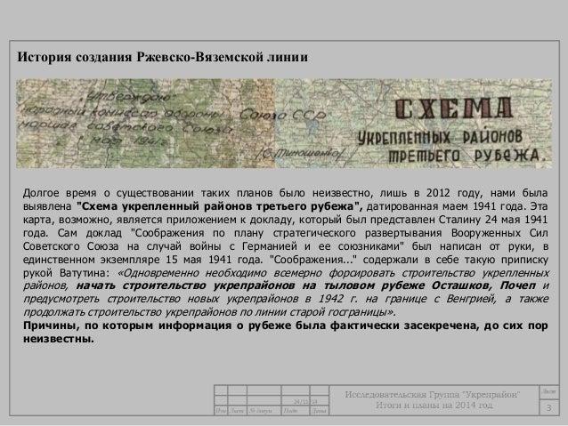 """""""Схема укрепленный районов"""
