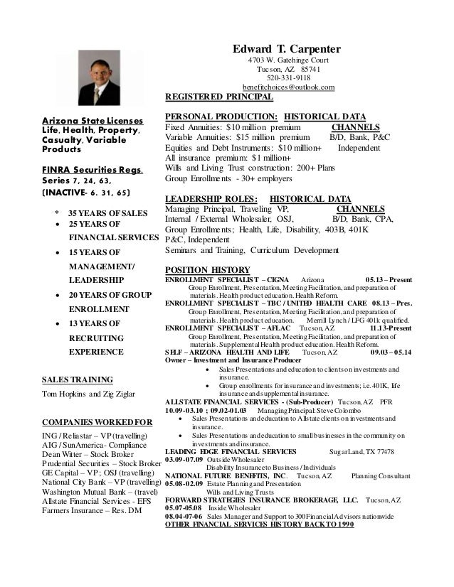 Human resource specialist resume