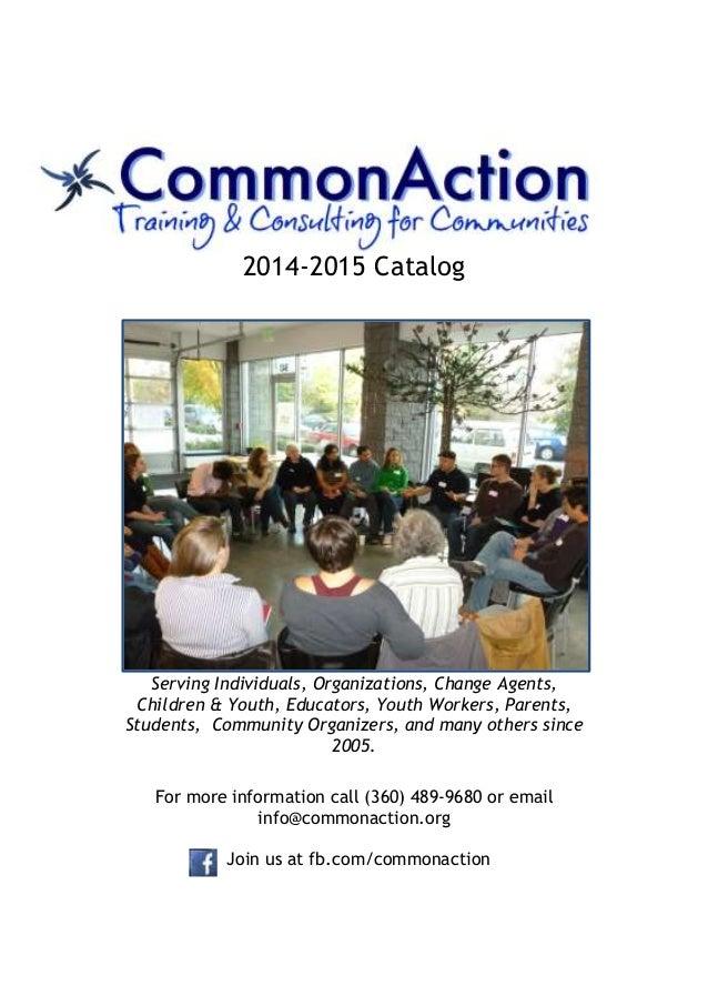 2014-2015 CommonAction Catalog