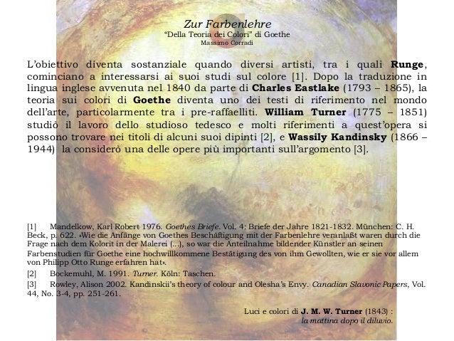 La teoria dei colori di johann wolfgang von goethe - Ludwig wittgenstein pensieri diversi ...